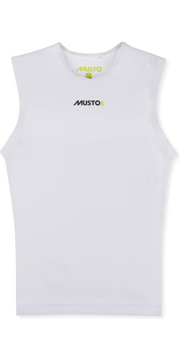 Musto Mens Foiling Race Bib White - 80861