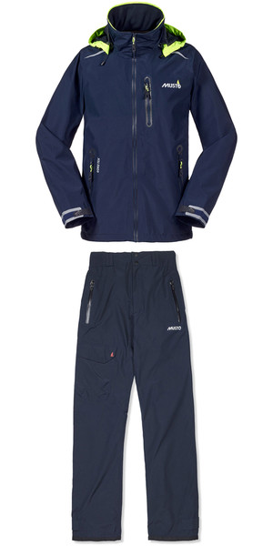 Musto Solent Gore-tex Jacket SL0090 & Trouser SL0100 Combi-Set TRUE NAVY