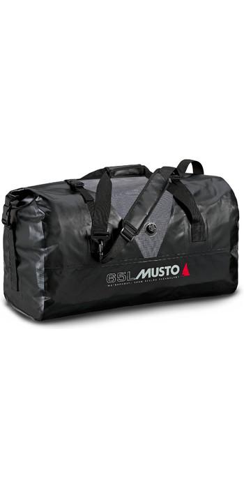 2021 Musto Waterproof Dry Carryall 65L 80040 - Black / Grey