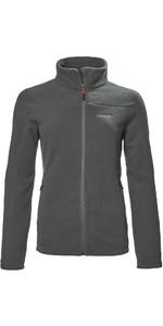 2021 Musto Womens Corsica 200GM Zipped Fleece 82064 - Dark grey