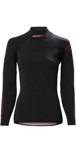 Musto Womens Flexlite Alumin 2.5mm Wetsuit Top 80922 - Black Marl