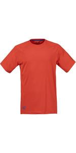 Musto Evolution Logo Short Sleeve Tee FIRE ORANGE SE1361