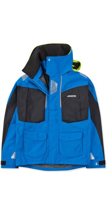 2021 Musto Mens BR2 Offshore Jacket Brilliant Blue / Black SMJK052