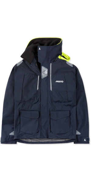 2019 Musto Mens BR2 Offshore Jacket True Navy SMJK052