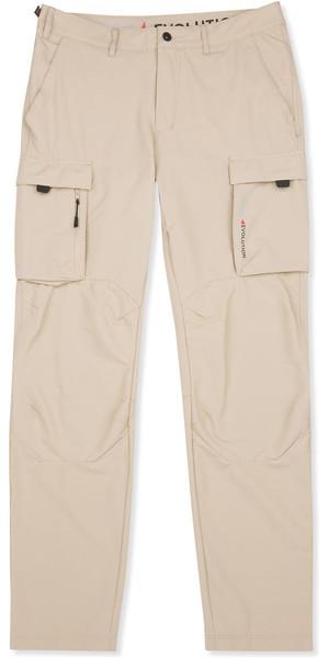 2019 Musto Mens Deck UV Fast Dry Trousers Light Stone EMTR022