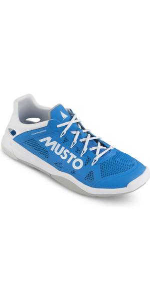 2018 Musto Dynamic Pro II Sailing Shoe Brilliant Blue FUFT006
