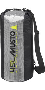 2019 Musto Essential 45L Dry Bag Black AUBL002