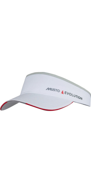2019 Musto Evolution Race Visor White AS0790