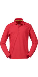 Musto Evolution Sunblock Long Sleeve Polo Top True Red SE0254