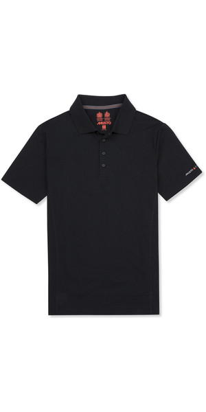2019 Musto Mens Evolution Sunblock Polo Black EMPS012