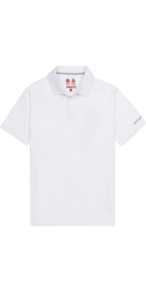 2019 Musto Mens Evolution Sunblock Polo White EMPS012