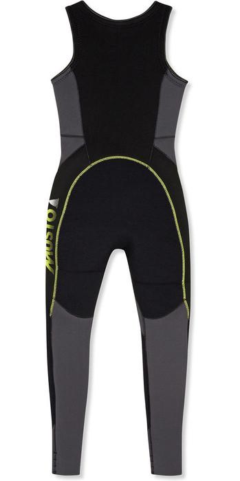 2021 Musto Junior 4mm Championship Thermohot Long John Wetsuit Dark Grey SKWT002