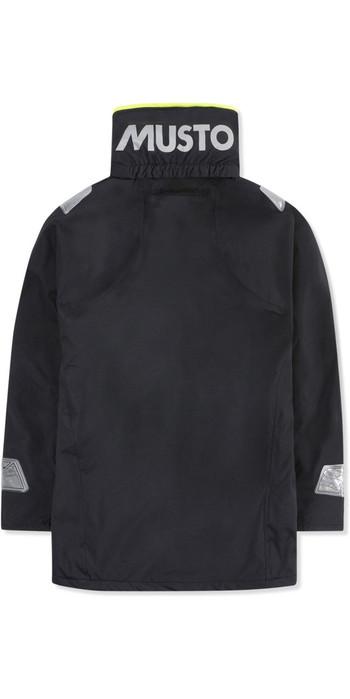 2020 Musto Junior BR1 Coastal Sailing Jacket Black SKJK004