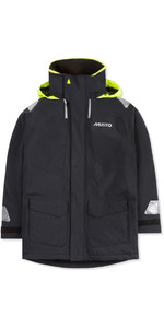 2019 Musto Junior BR1 Coastal Sailing Jacket Black SKJK004