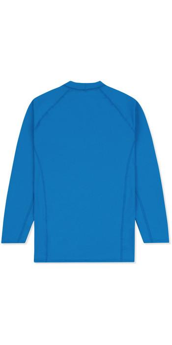 2021 Musto Junior Insignia UV Fast Dry LS T-Shirt Brilliant Blue SKTS012