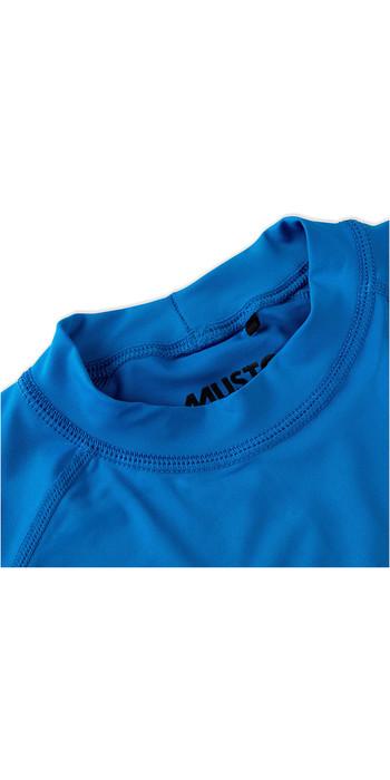 2021 Musto Junior Insignia UV Fast Dry SS T-Shirt Brilliant Blue SKTS011