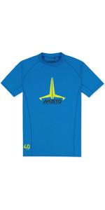 2020 Musto Junior Insignia UV Fast Dry SS T-Shirt Brilliant Blue SKTS011