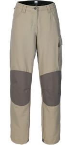 Musto Womens Evolution Performance Sailing Trousers Light Stone - Long Leg (84cm) SE0920