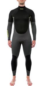 2020 Musto Mens 4/3mm Championship Back Zip Wetsuit Black smwt005