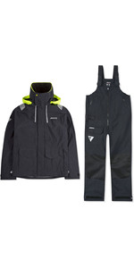 2020 Musto Mens BR2 Coastal Jacket & Trouser Combi Set - Black