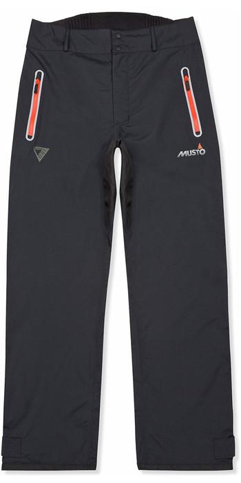2021 Musto Mens BR1 RIB Hi-Back Trousers Black 80891