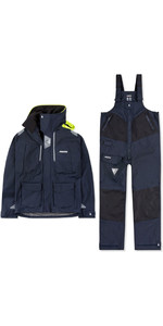2020 Musto Mens BR2 Offshore Jacket & Trouser Combi Set - Navy