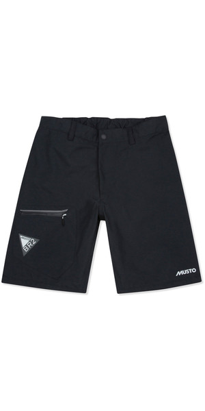 2018 Musto Mens BR2 Race Lite Shorts Black SMST006