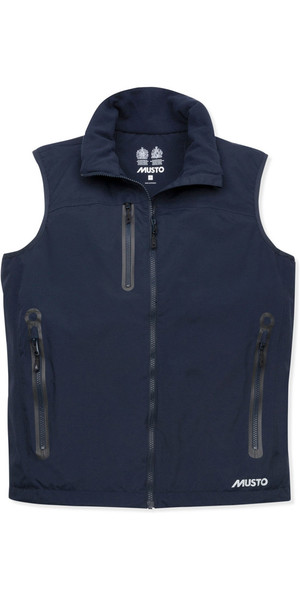 2019 Musto Mens Corsica BR1 Fleece Lined Gilet True Navy SMJK064