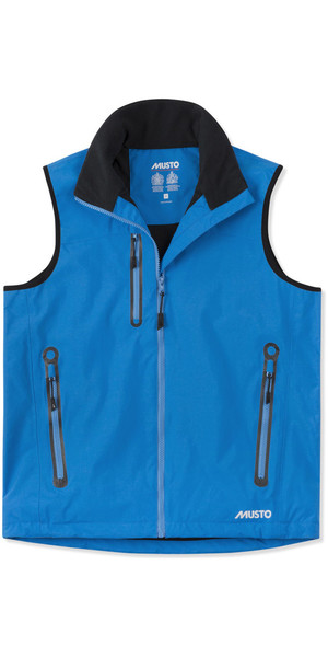 2019 Musto Mens Corsica BR1 Fleece Lined Gilet Brilliant Blue SMJK064