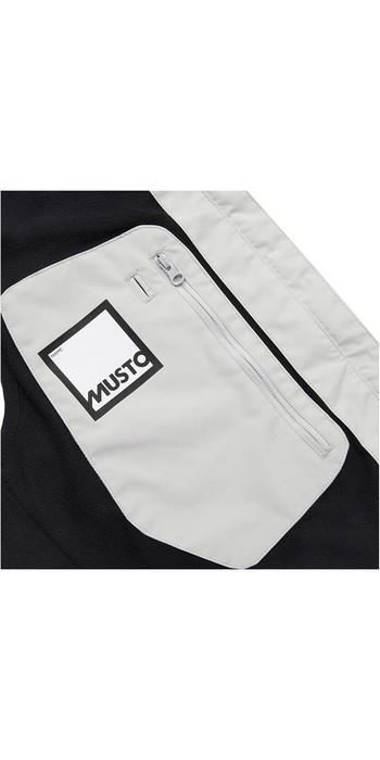 2019 Musto Mens Corsica Fleece Lined BR1 Gilet Platinum SMJK064