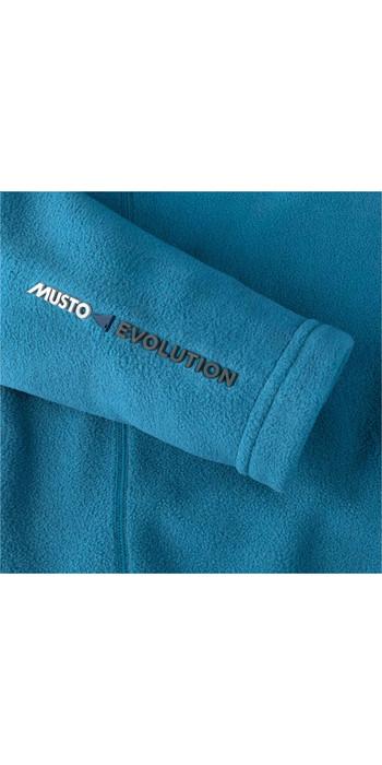 2019 Musto Mens Crew Fleece Jacket Cove Blue EMFL027