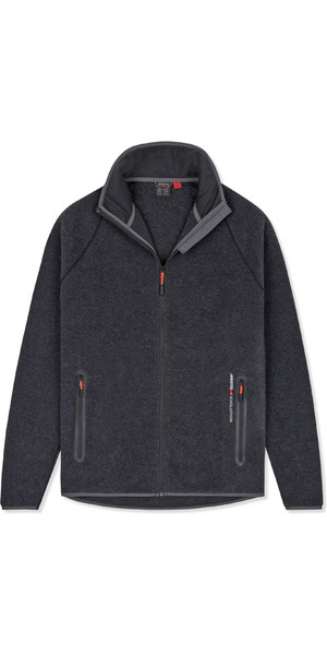 2019 Musto Mens Essential Polartec Fleece Jacket Charcoal EMFL031