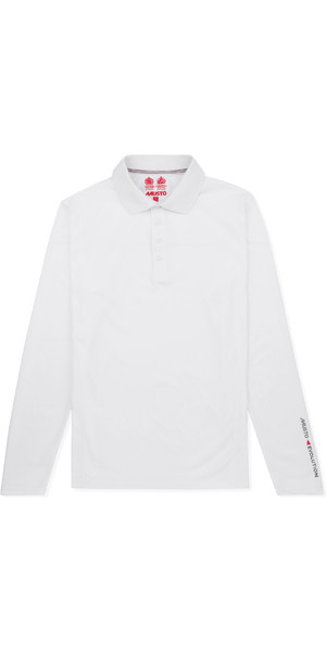2019 Musto Mens Evolution Sunblock Polo White EMPS011