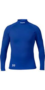 2020 Musto Mens Foiling Sunblock Impact Top Racer Blue SMTS014
