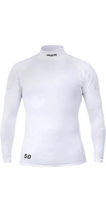 2021 Musto Mens Foiling Sunblock Impact Top White SMTS014