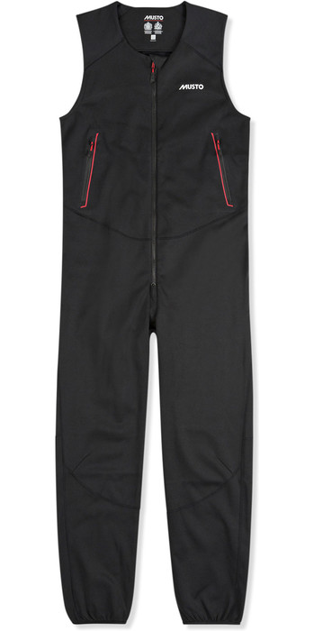 2021 Musto Mens Frome Middle Layer Salopette Black SUTR052
