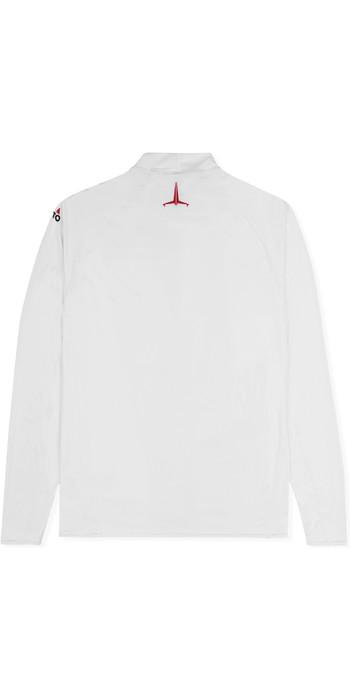 2021 Musto Mens Insignia UV Fast Dry Long Sleeve T-Shirt White SUTS010