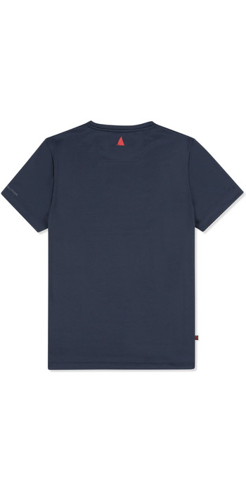 2019 Musto Mens Sunshield Permanent Wicking UPF30 T-Shirt Navy EMTS029