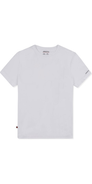 2019 Musto Mens Sunshield Permanent Wicking UPF30 T-Shirt White EMTS029