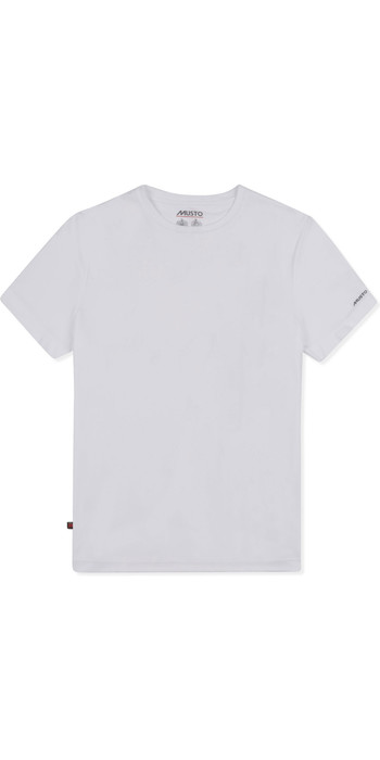 2019 Musto Mens Sunshield Permanent Wicking UPF30 T-Shirt White EMTS029