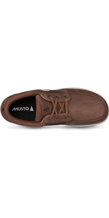 2019 Musto Nautic Drift Sailing Shoes Dark Brown FMFT020