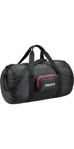 2019 Musto Packaway Holdall Black AUBL042
