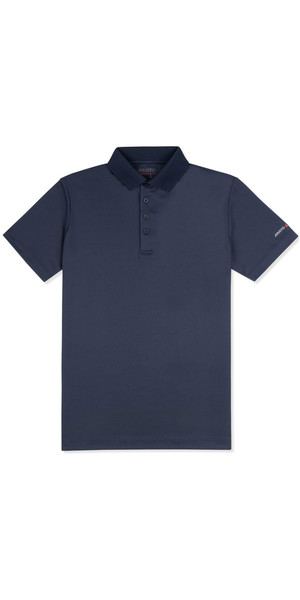 2019 Musto Mens Sunshield Permanent Wicking UPF30 Polo Navy EMPS019