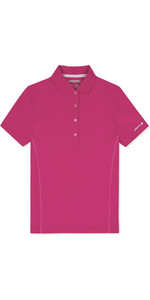 2019 Musto Womens  Evolution Sunblock Polo Magenta EWPS006