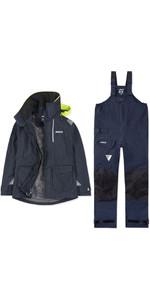 2020 Musto Womens BR2 Offshore Jacket & Trouser Combi Set - Navy