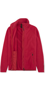 Musto Womens Crew Fleece Jacket Red EWFL028