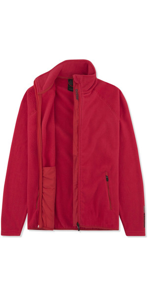 2019 Musto Womens Crew Fleece Jacket Red EWFL028