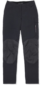 2019 Musto Womens Evolution Performance UV Sailing Trousers Black - Long Leg SE0921