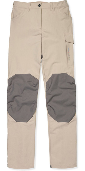 2018 Musto Womens Evolution Performance UV Sailing Trousers Light Stone - Regular Leg (86cm) SE0921