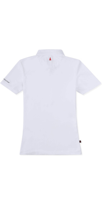 2019 Musto Womens SunShield Permanent Wicking UPF30 Polo White EWPS011